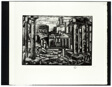 Wood Engraving (Ruins), plate 8 from 101 Prints