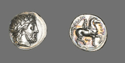 Tetradrachm (Coin) Depicting the God Zeus