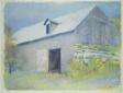 Barn in Blue Haze