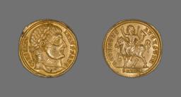 Solidus (Coin) Portraying Emperor Constantine I