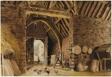 A Barn Interior