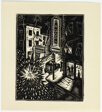 New Year in China Town - print #14 of 52 in the 1936 Calendar of The Chicago Society of Artists