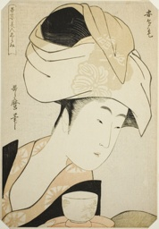 """Atage, from the series """"A Selection of Eastern Beauties (Azuma bijin erami)"""""""