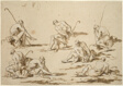 Study Sheet with Seated Figures