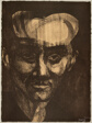 Portrait of Garcia Lorca, plate three from Oda a Lorca