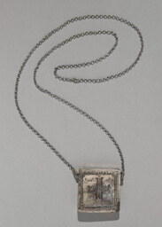 Necklace with a Compartment for Magical Texts