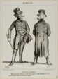 Ratapoil and Casmajou. The most active members of the philanthropic society of December 10: the portraits are drawn from nature and are of striking similarity, plate six from Actualités