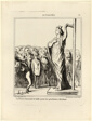 France preparing to get her candidates to pass muster under the measure of standards, plate 73 from Actualités