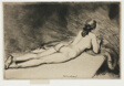 Nude Figure Lying Down