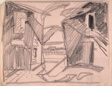 Study for Saugatuck, exteriors of buildings