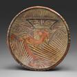 Pedestal Bowl Depicting an Anthropomorphic Saurian Figure