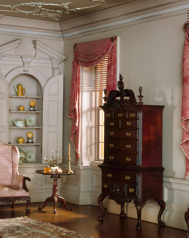 Rooms: A16: Pennsylvania Drawing Room, 1761