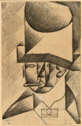 Head of a Man with Cigar