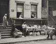Gypsies and Vegetable Dealer, Pitt St., N.Y.C.