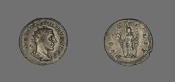 Denarius (Coin) Portraying King Philip II