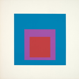 Full, plate six from Homage to the Square: Ten Works by Josef Albers