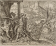 The Discovery of Holofernes's Corpse, plate eight from The Story of Judith and Holofernes