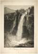 The Waterfall of Velino Near Terni, Rome