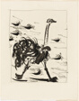 The Ostrich, from Histoire naturelle