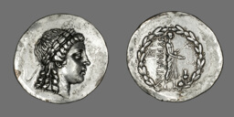 Tetradrachm (Coin) Depicting the God Apollo Gryneios