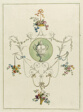 Decorative Floral Print, from A Collection of Flowers Drawn after Nature
