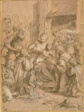 Study for the Adoration of the Magi