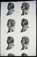 Roman Heads (Furnishing Fabric)