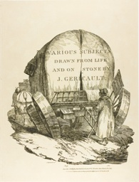 A Horse-Drawn Wagon, Title Page for the English Series