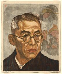 Portrait of Nakamura Kichiemon, Kabuki Actor
