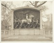 Memorial by Augustus Saint Gaudens to the Massachusetts 54th regiment (full view) in Boston Common