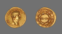 Aureus (Coin) Portraying Emperor Nero