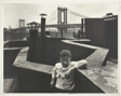 Boy on Roof, Pitt St., N.Y.C.