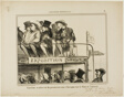 Open air exhibition of provincials coming to Paris to see the palace of industry, plate 31 from L'Exposition Universelle