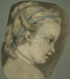Young Girl Facing to the Right