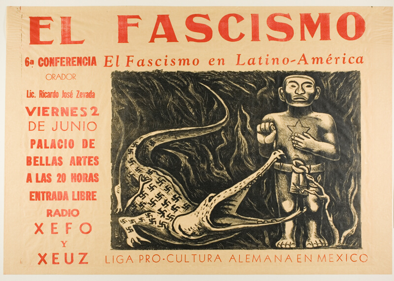 El Fascismo En LatinoAmérica Fascism In Latin America The Art - Anti fascismos map us