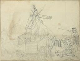 Study for Caisson d'artillerie
