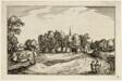 A Convent, plate thirteen after Pictures of Farms, Country Houses and Rustic Villages (Praediorum villarum et rusticarum casularum icones)