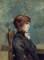 Portrait of Jeanne Wenz