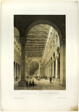 Interior of the Basilica of Munich, plate 70 from Allemande
