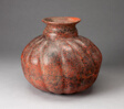 Fluted Vessel, Possibly in the Form of a Gourd