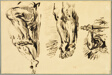 Study of Arms and Legs of Christ Crucified