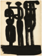 Untitled (Group of Figures/Single Figure)
