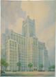 Montgomery Ward Memorial Building, Chicago, Illinois, Perspective View