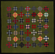 """Bedcover (""""Nine Patch"""" Quilt)"""