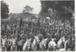 Soldiers on Horseback, Wearing Turbans, Carrying Lances
