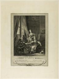 La Toilette, from Monument du Costume Physique et Moral de la fin du Dix-huitième siècle