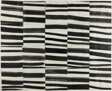 """Study for """"Cité"""": Brushstrokes Cut into Twenty Squares and Arranged by Chance"""