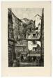 L'Epicerie, Rue Galande, Paris, from Vingt Lithographies du Vieux Paris