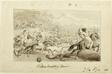 Tartars Hunting Deer (recto); Shell (verso)