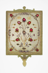 Mirror Frame with Tree of Life Motif